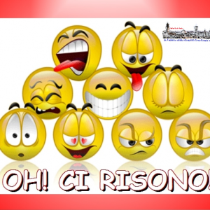 """PARTE DA DOMANI FINO AL 29 GIUGNO IL CONTEST WEB """" OH!CI RISONO"""""""