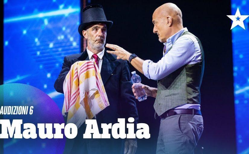 MAURO ARDIA DOPO ITALIA'S GOT TALENT E' AUTORE DI UN NUOVO SKETCH CHE ABBIAMO PRESENTATO PER UN  NUOVO PROGRAMMA TV