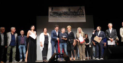 Premiazione del vincitore Ruben Spezzati di Brescia