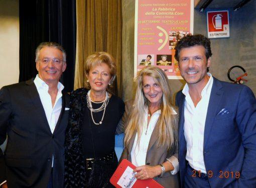 Regina Schreker Premio Città di Firenze2019  e Renato Raimo Premio Arte Cultura Spettacolo 2019